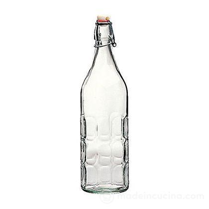Bottiglia in vetro Moresca con tappo meccanico
