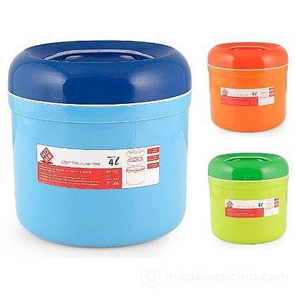Porta vivande termico 4 litri (colori assortiti)