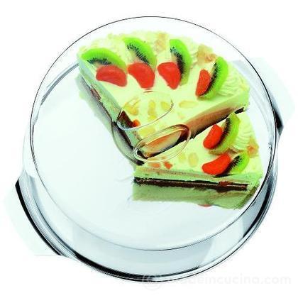 Vassoio torta con coperchio