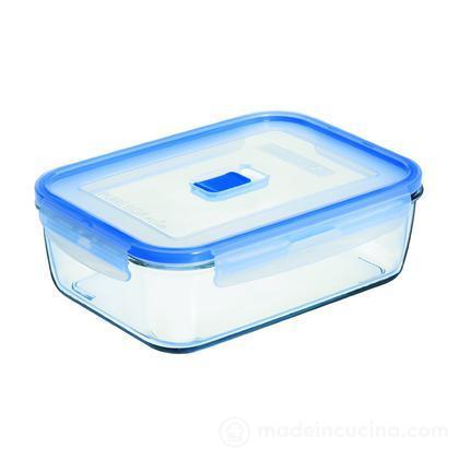 Contenitore rettangolare in vetro Pure Box con valvola Active