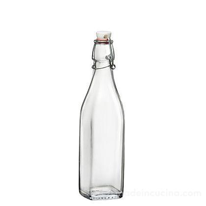 Bottiglia in vetro Swing con tappo meccanico