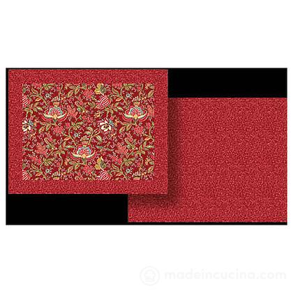 Set table Colombe Rouge 35x45