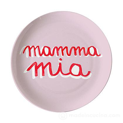 Piatto pizza Mamma Mia Sms