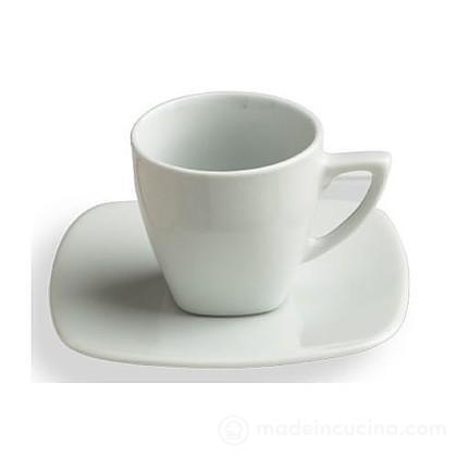 Set 6 tazzine da caffè con piattino Timesquare