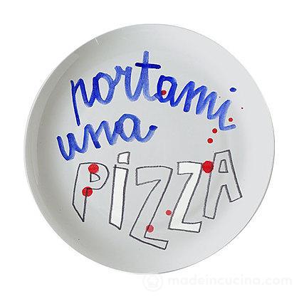 Piatto pizza Portami Una Pizza Sms