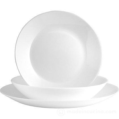 Servizio 18 piatti Bianco Zelie