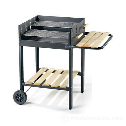 Barbecue a carbone Eco Black Line 55565