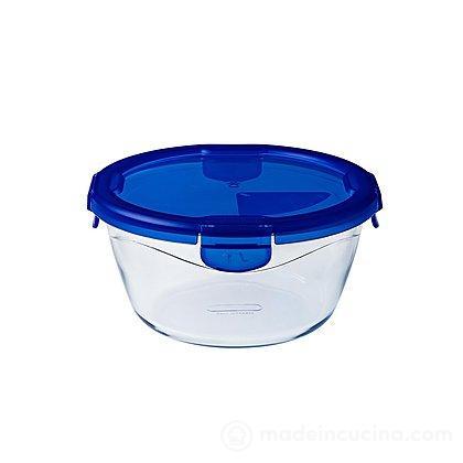 Contenitore ermetico rotondo in vetro Cook&Go