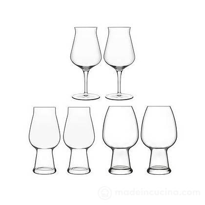 Set 6 bicchieri Birrateque