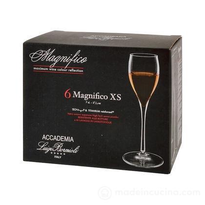 Set 6 calici liquore Magnifico
