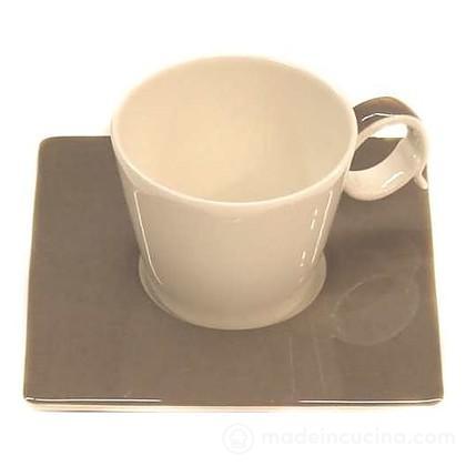 Tazzina caffè con piattino Freshness Bandy Taupe