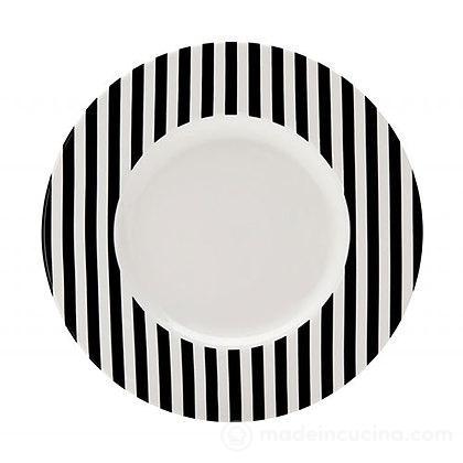 Piatto dessert Freshness Stripe