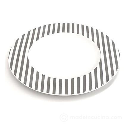Piatto Piano Freshness Stripes Taupe