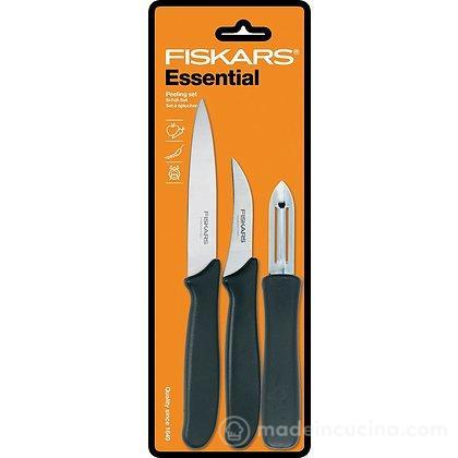 Set coltello da cucina spelucchino e pelapatate Essential