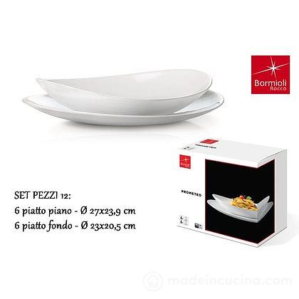Servizio piatti 12 pezzi Prometeo