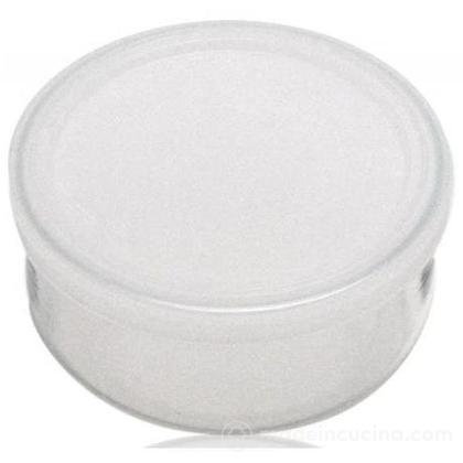 Contenitore Pyrex tondo 1,6 litri con coperchio bianco
