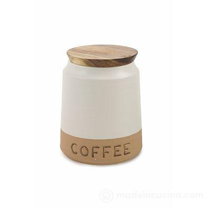 Barattolo caffè con coperchio in legno Bistrot