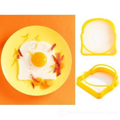 Stampini per uovo Toast, set 2 pz.
