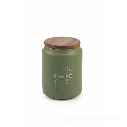 Barattolo caffè con coperchio in legno Cruciverba
