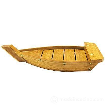 Barca per sushi Zen in legno