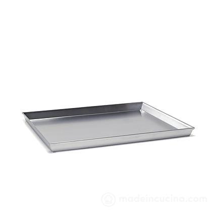 Teglia rettangolare in alluminio angoli svasati serie 7000