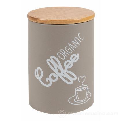 Barattolo caffè in ceramica con tappo ermetico Natural