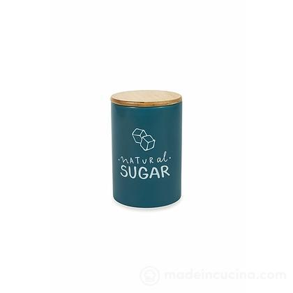 Barattolo zucchero in ceramica con tappo ermetico Natural