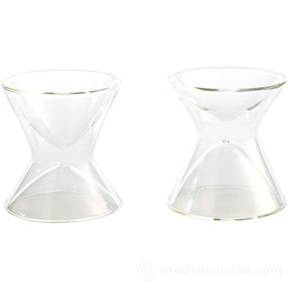 Bicchieri termici Margarita, set 2 pz.