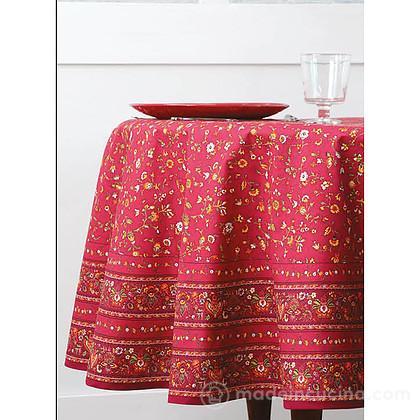 Tovaglia rotonda Gentiane Rouge 180cm