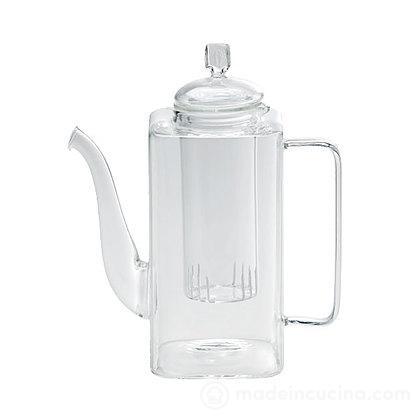 Teiera in vetro borosilicato 0,8 litri Tea Time