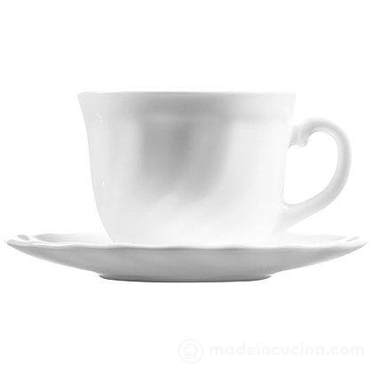 Set 6 tazzine da caffè con piattino Trianon