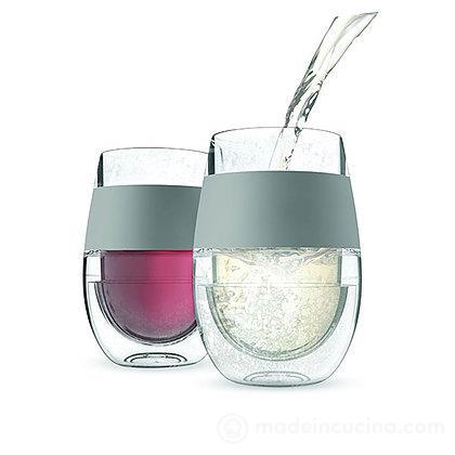Set 2 bicchieri refrigeranti per acqua Freeze