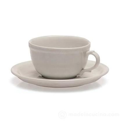 Set 6 tazzine da caffè con piattino Lido