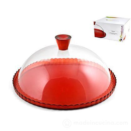 Piatto in vetro con cupola Patisserie - Pasabahce ...