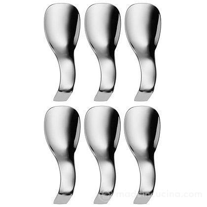 Set 6 cucchiaini da antipasto Nuova in acciaio inox