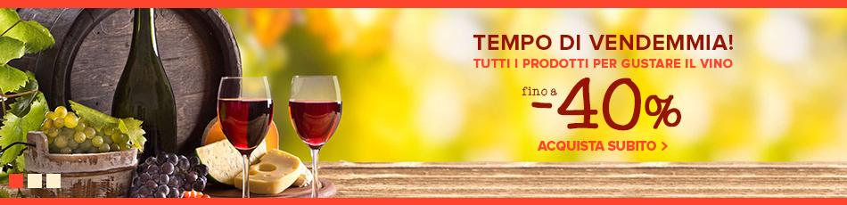 Tempo di vendemmia: tutto per il vino e la degustazione