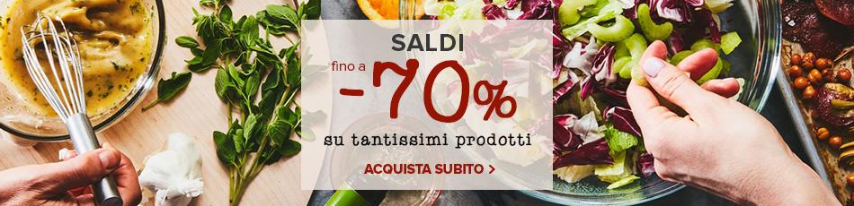 Saldi invernali: sconti fino a -70% su un'ampia selezione di prodotti!